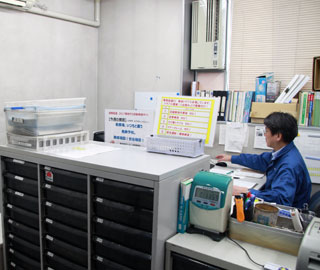 杉田営業所事務所